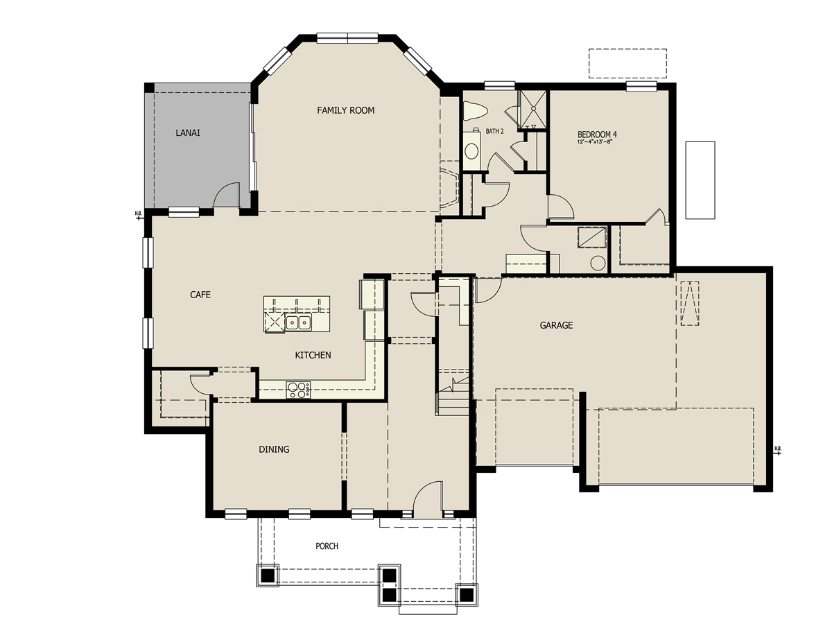 Atlantis new home plan for latham park estate in winter for Atlantis homes floor plans
