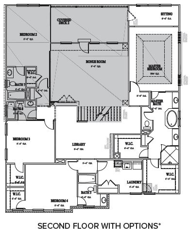 The Berkshire at Braemore, Cary - Second Floor Options