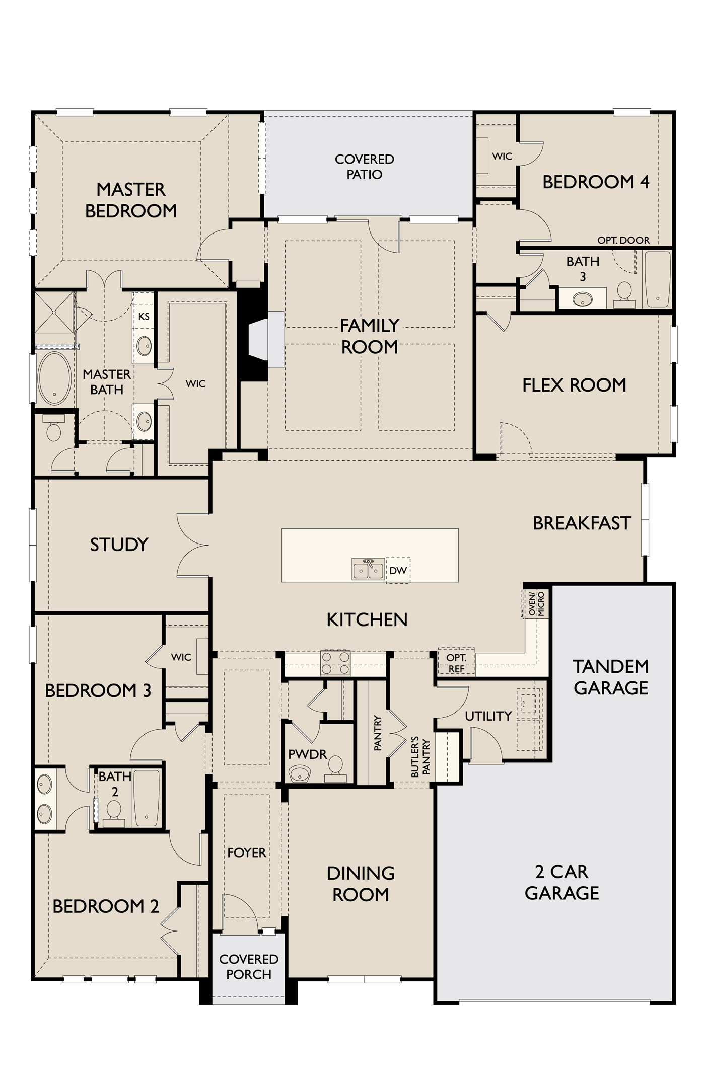 Colton,  - First Floor