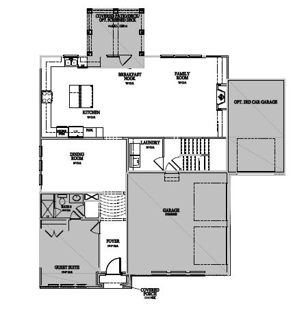 The Marlow at Waterstone Estates, Hillsborough - First Floor Options