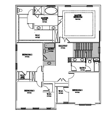 The Marlow at Waterstone Estates, Hillsborough - Second Floor Options