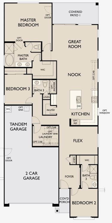 Palo verde new home plan for marley park tompkins square for Palo verde homes floor plans