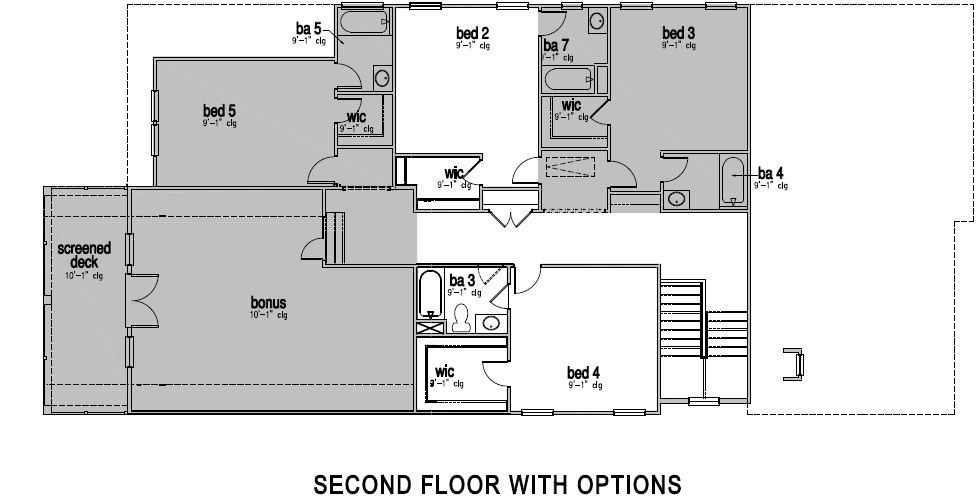The Hartwell at Greys Landing,  - Second Floor Options