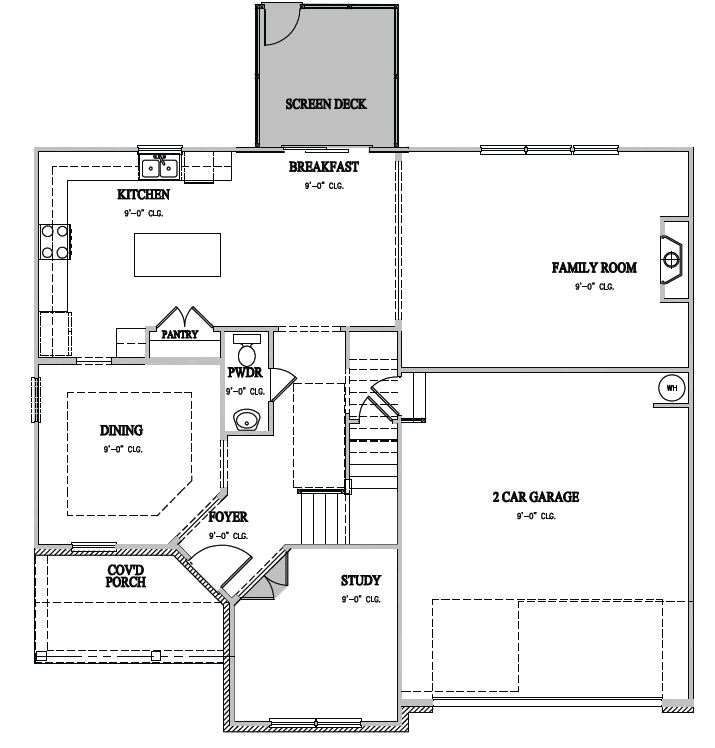 The Dillon at Pemberley,  - First Floor Options