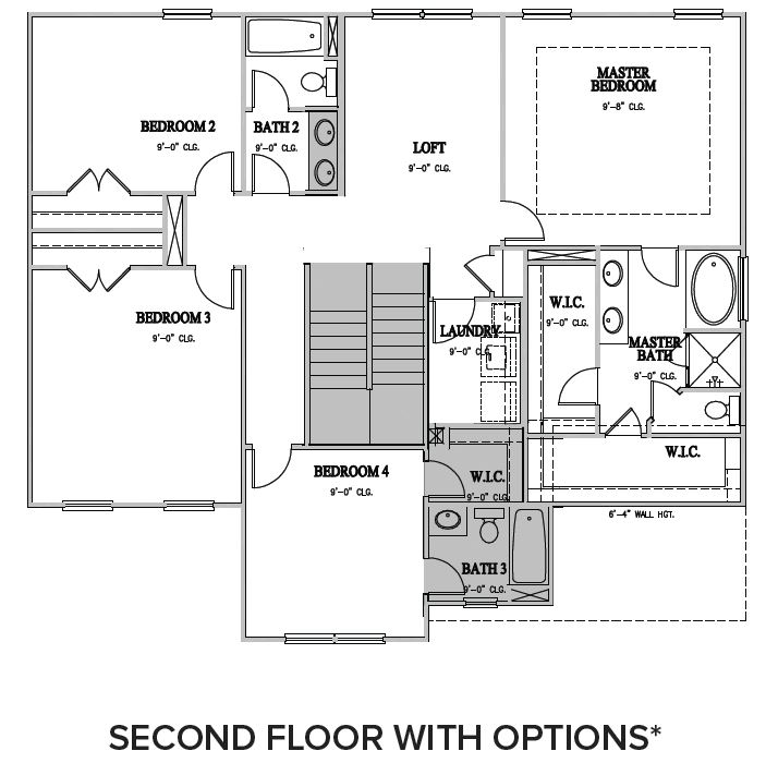 The Dillon at Pemberley,  - Second Floor Options