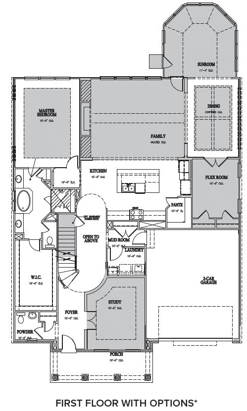 The Windsor at Waterstone, Hillsborough - First Floor Options