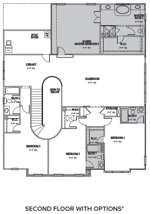 The Windsor at Waterstone, Hillsborough - Second Floor Options