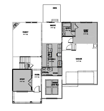 The Wheylon at Kidlaire Crossing, Cary - First Floor Options