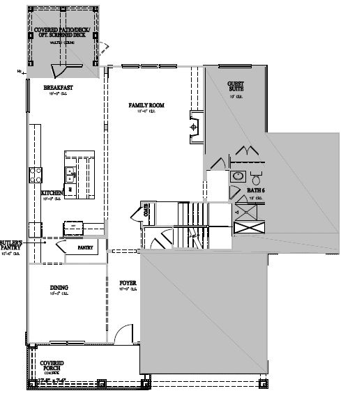 The Winslow at Waterstone Estates, Hillsborough - First Floor Options