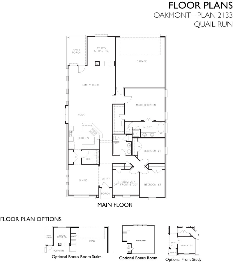 Oakmont,  - First Floor
