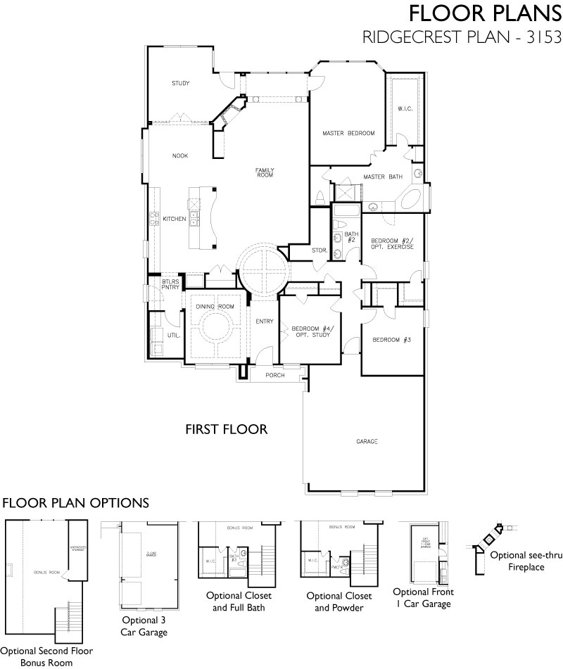 Ridgecrest,  - First Floor