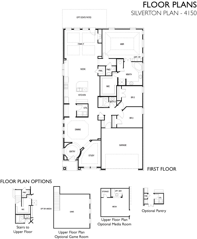 Silverton,  - First Floor