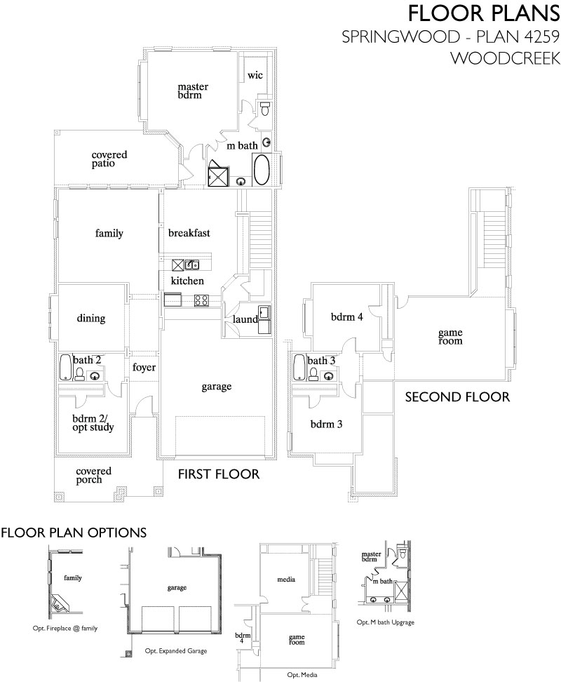 Springwood,  - First Floor