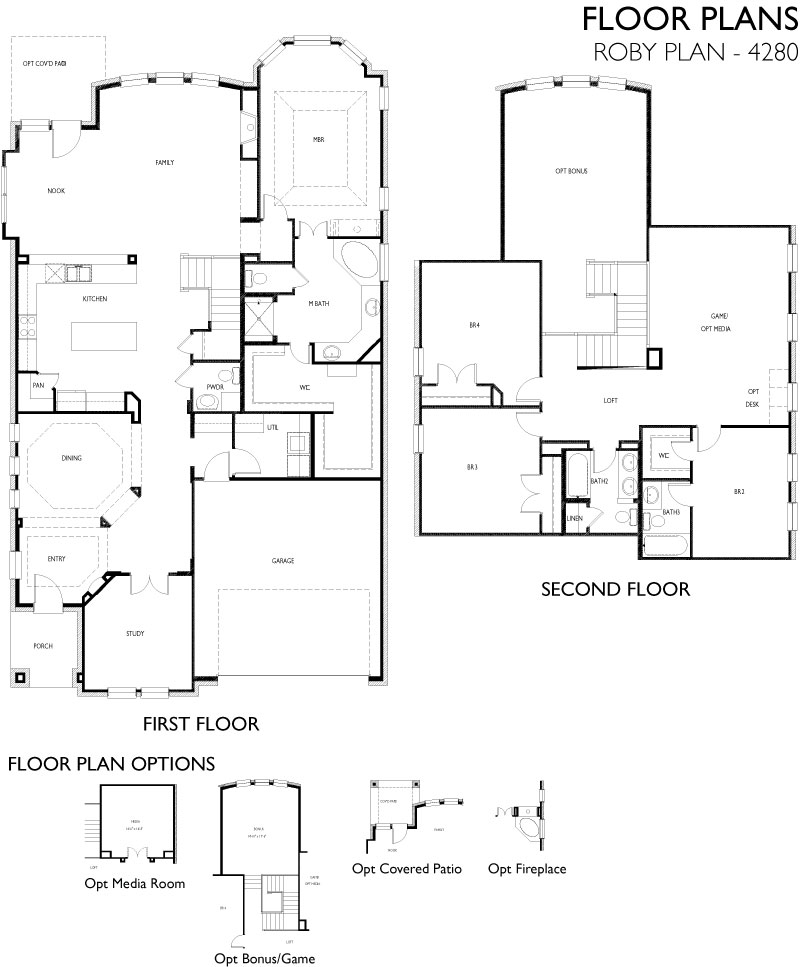 Roby,  - First Floor