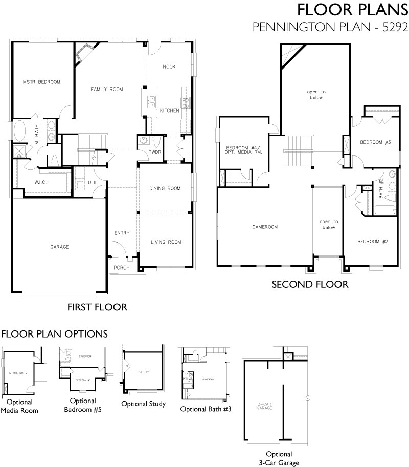 Pennington,  - First Floor