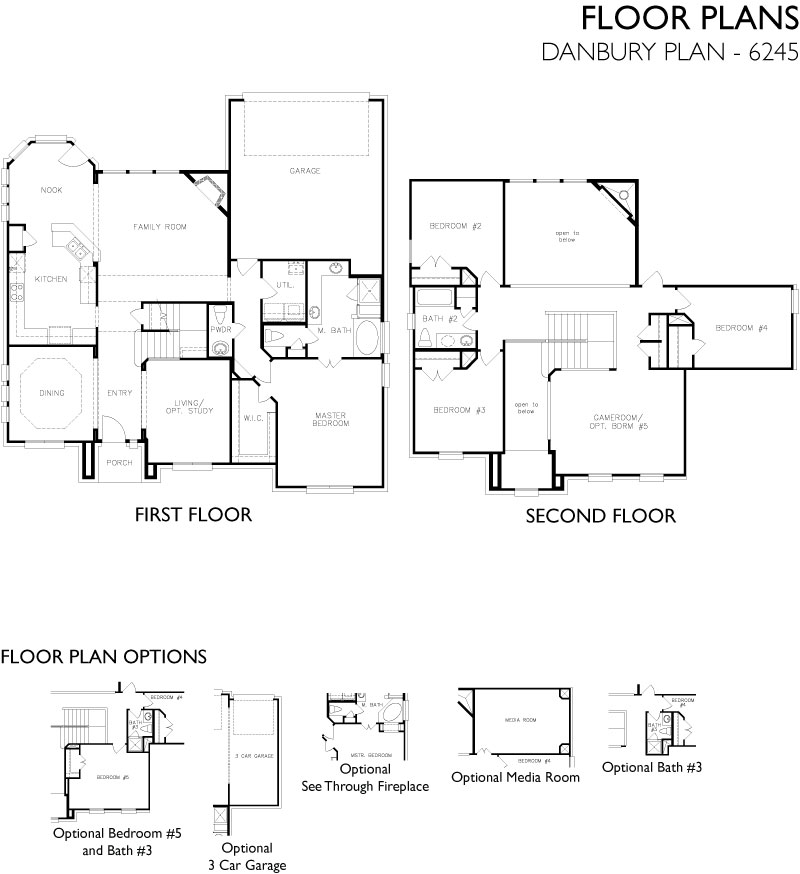 Danbury,  - First Floor