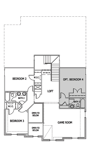 Wellington II,  - Second Floor Options
