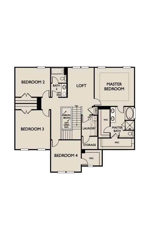 The Dillon at Kildaire Crossing, Cary - Second Floor