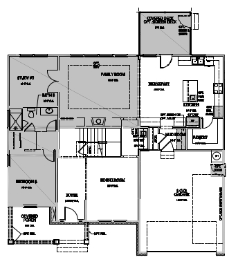 The Greenville, Raleigh - First Floor Options
