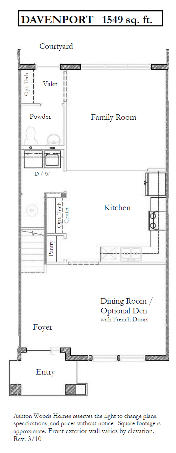 Davenport-S,  - First Floor