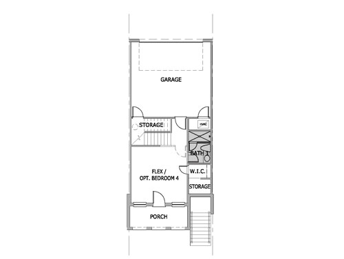 Magnolia,  - First Floor Options
