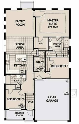 Cordoba 1551 New Home Plan In Tampa By Ashton Woods