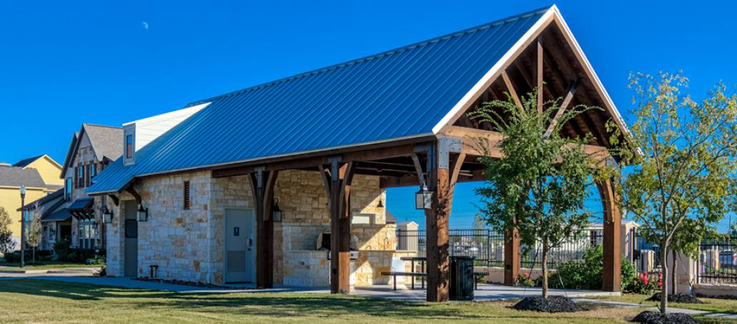 Lakeshore at Towne Lake, Houston - Private Pavilion
