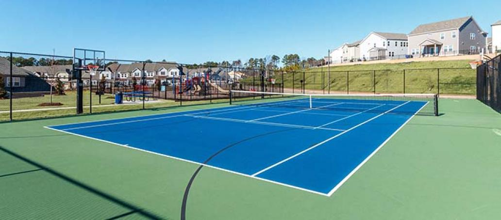 Ellis Crossing, Raleigh - Tennis Courts