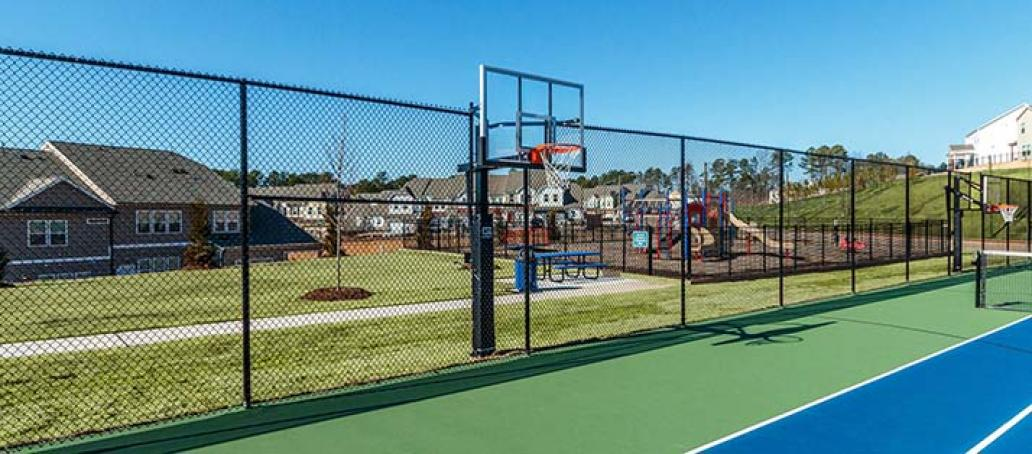 Ellis Crossing, Raleigh - Basketball Court