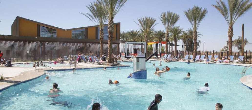 Inspirian Park at Eastmark, Phoenix - Community Pool