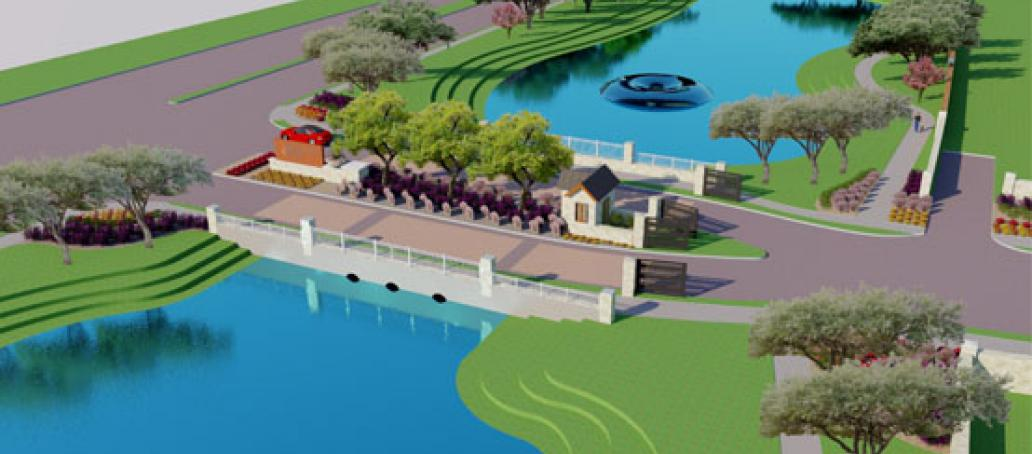 University Place - 60' Homesites, Dallas - Water Features