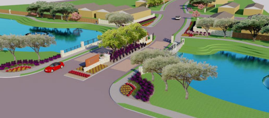 University Place - 50' Homesites, Dallas - Community Entry