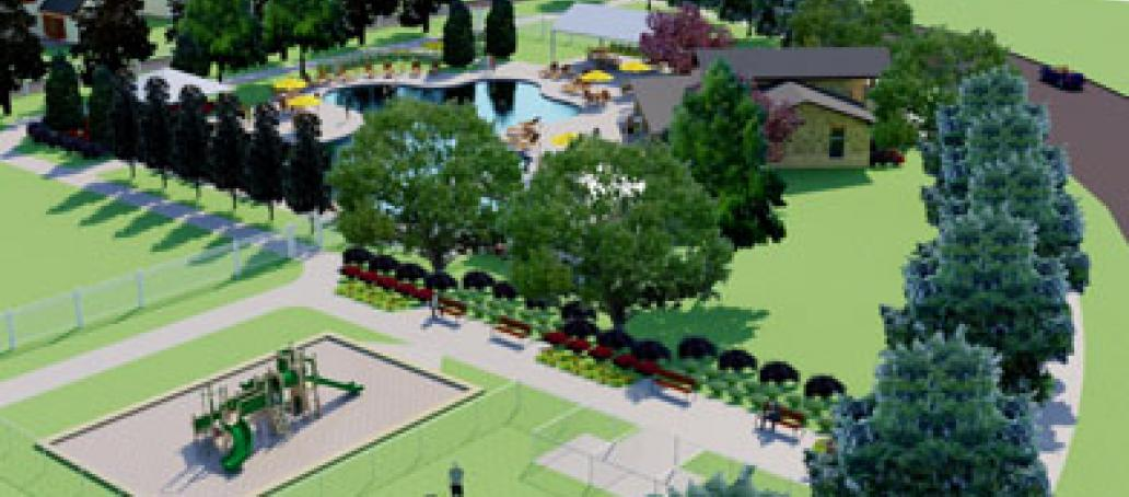 University Place - 50' Homesites, Dallas - PLAYGROUND AT UNIVERSITY PLACE