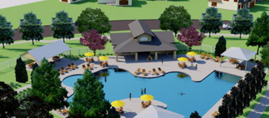 University Place - Townhomes, Dallas - Two Community Swimming Pools