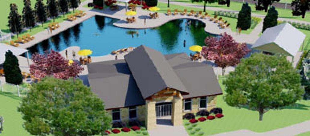 University Place - 50' Homesites, Dallas - AMENITY CENTER AT UNIVERSITY PLACE