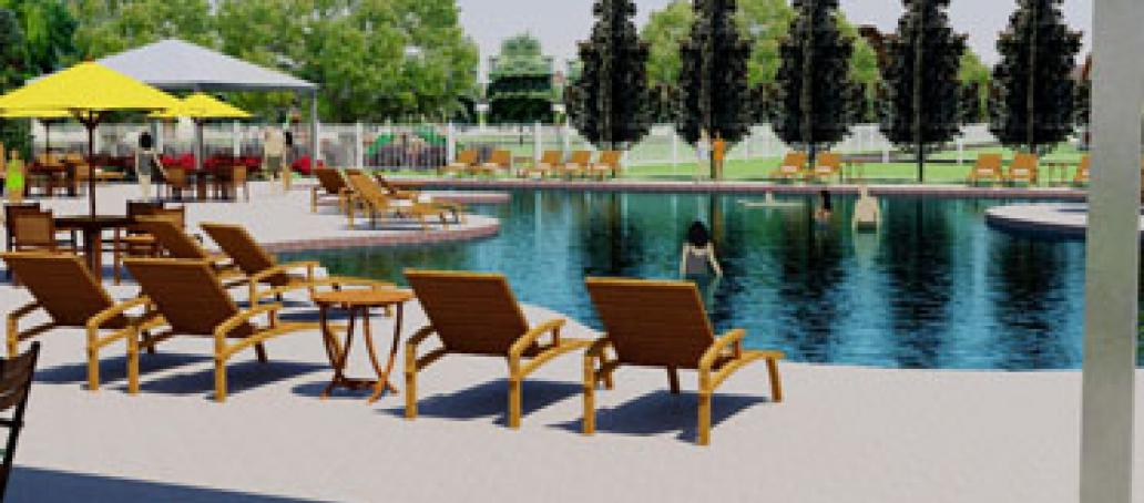 University Place - 50' Homesites, Dallas - Splash Pool