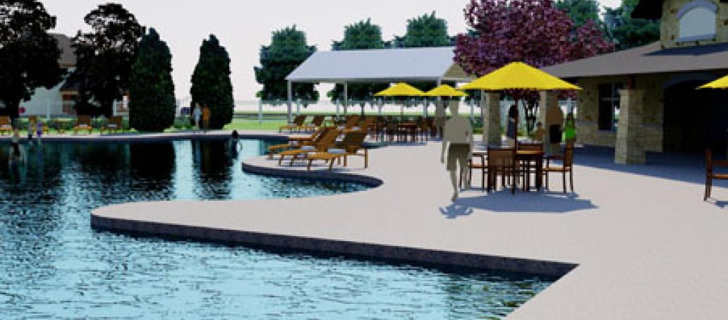University Place - 40' Homesites, Dallas - MAIN POOL AT UNIVERSITY PLACE