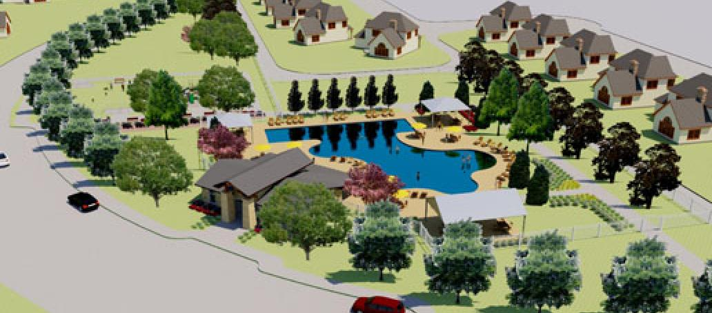 University Place - 40' Homesites, Dallas - AMENITY CENTER AT UNIVERSITY PLACE