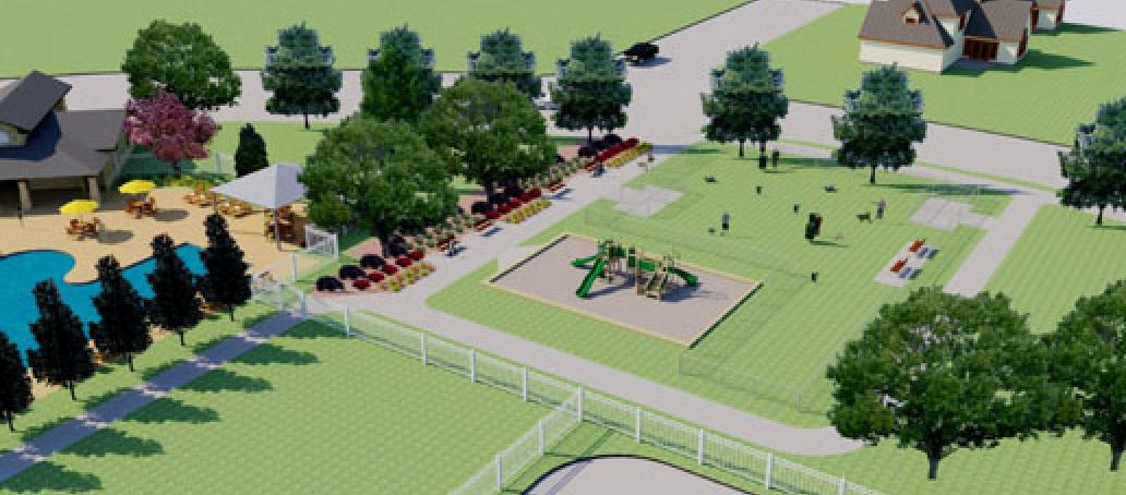 University Place - 40' Homesites, Dallas - GREENSPACE AT UNIVERSITY PLACE