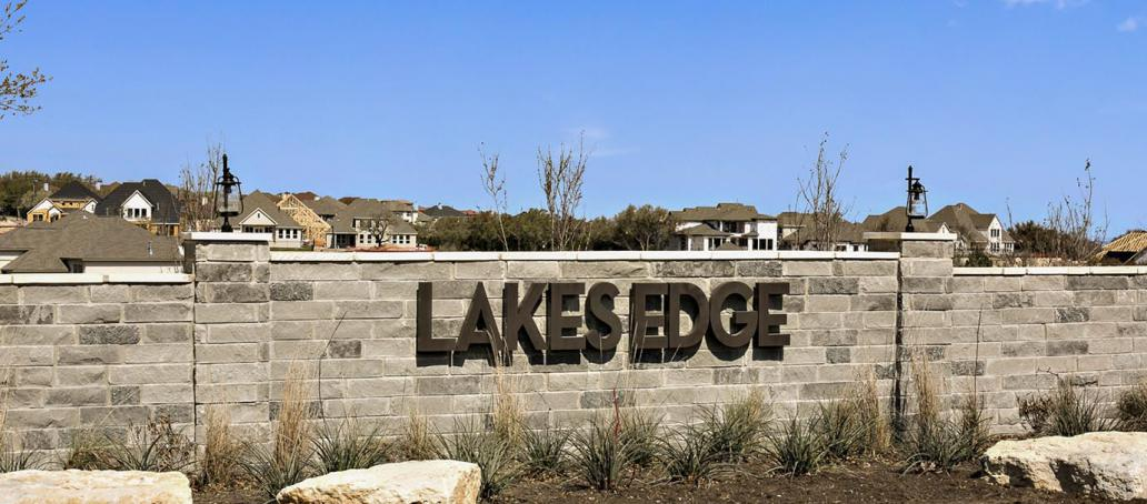 Lakes Edge, Austin - Entrance