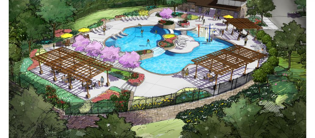 Arcadia Ridge - The Vistas, San Antonio - Future Lagoon Style and Jr. Olympic Size Pools