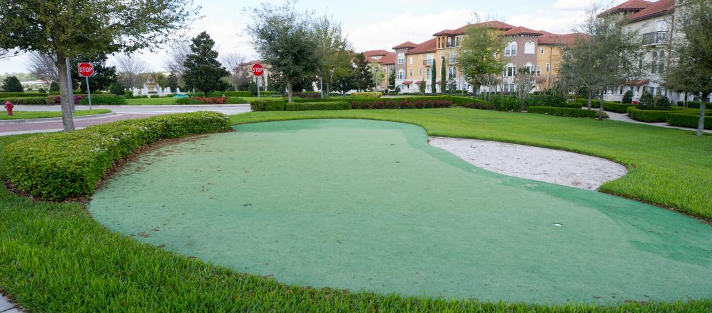 Fountain Parke, Orlando - Putting Green