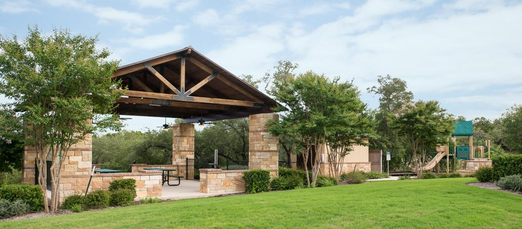 The Estates at Stone Crossing, San Antonio - Picnic Area and Playscape