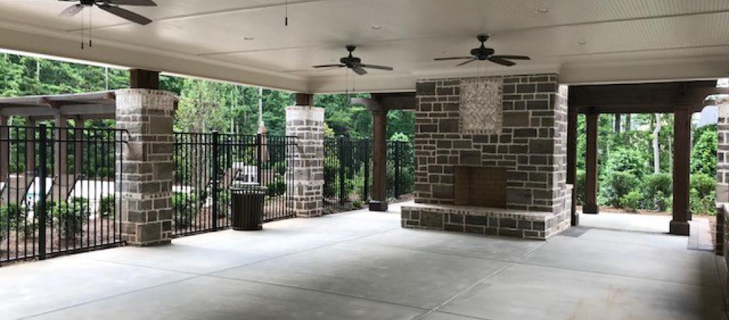 Aria West Opera Series, Atlanta - Outdoor Fireplace