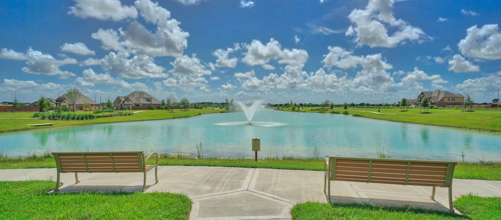 Creekside Ranch 50FT, Houston - Community Amenity Lake