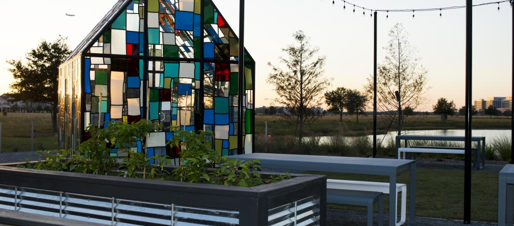 Laureate Park Townhomes, Orlando - Glass House