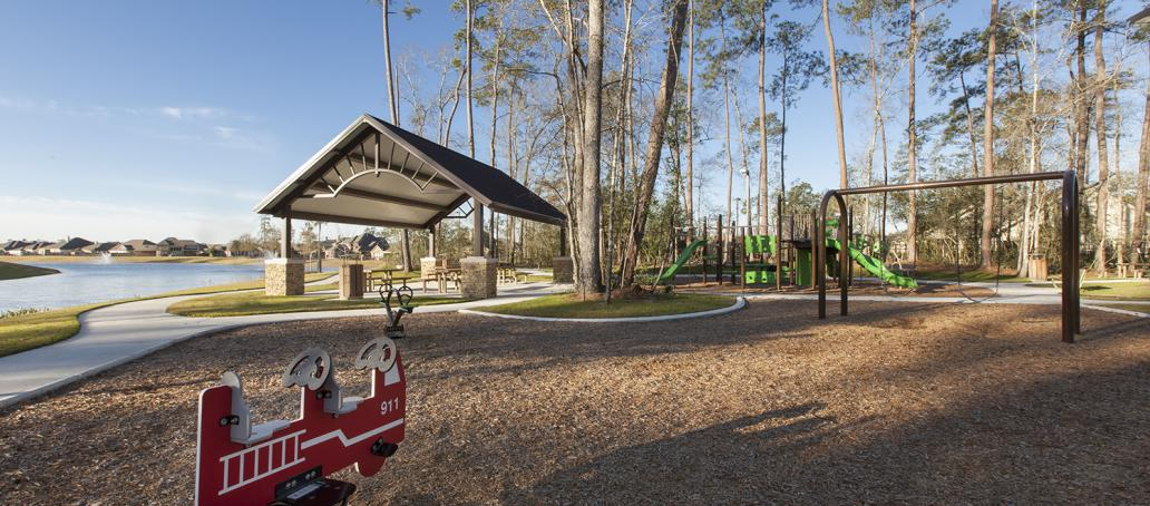 The Meadows at Imperial Oaks 70ft, Houston - Playground & Picnic Area