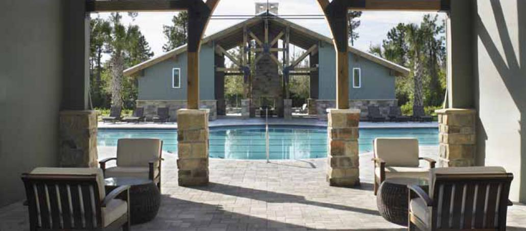 Latham Park, Orlando - Swimming Pool and Cabana