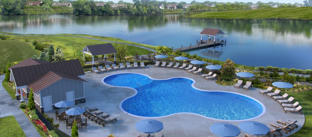 Holding Village- Manor Collection, Raleigh - Swimming Pool and Clubhouse