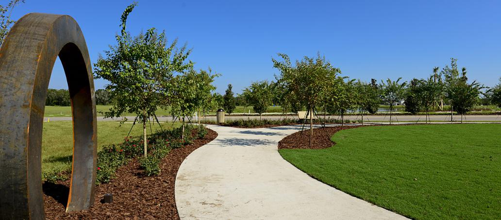 Waterset Courtyard, Tampa - Walking Trails